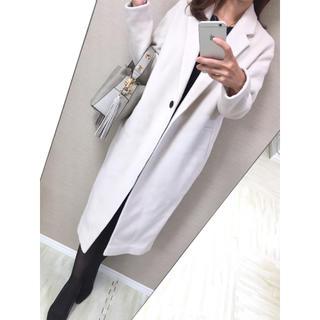 カリテ(qualite)の【新品】定価60,000円♡♡カリテ♡qualite♡サイズ36 ロングコート (ロングコート)