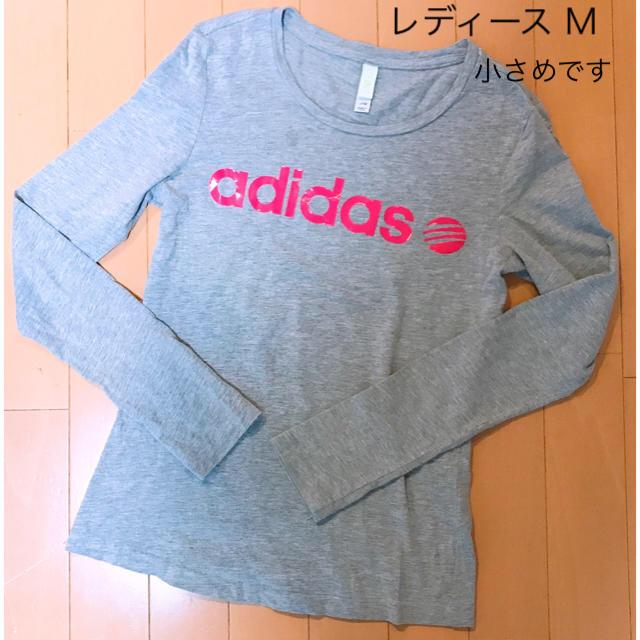 adidas(アディダス)のSALE!アディダスNEO レディース M ロンT レディースのトップス(Tシャツ(長袖/七分))の商品写真