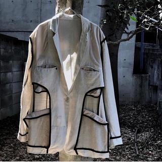 ジョンローレンスサリバン(JOHN LAWRENCE SULLIVAN)のEURO linen jacket (テーラードジャケット)