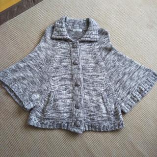 クランプリュス(KLEIN PLUS)のラグランスリーブ セーター ポンチョ M(ニット/セーター)