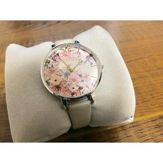 ダニエルウェリントン(Daniel Wellington)のオリビアバートン レディース 腕時計 革ベルト 花柄(腕時計)