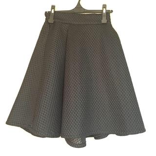 シェデル(Chedel)の丸山慶子プロデュース♡CHEDEL♡メッシュスカート(ひざ丈スカート)
