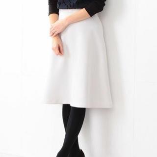 デミルクスビームス(Demi-Luxe BEAMS)のデミルクスビームス スカート フレア ミモレ セオリー アローズ(ひざ丈スカート)