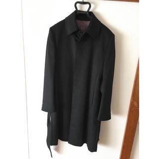 コムサメン(COMME CA MEN)のplatinum COMME CA プラチナ・コムサ コート アンゴラ ブラック(ステンカラーコート)