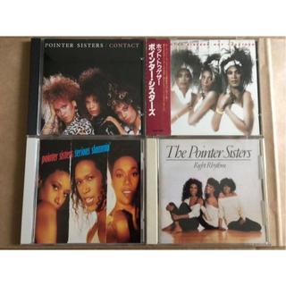ポインター・シスターズ 旧規格 日本盤4作品セット(R&B/ソウル)