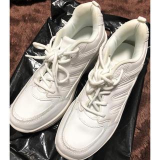 クラッセ コスプレ用厚底スニーカー(白)(靴/ブーツ)