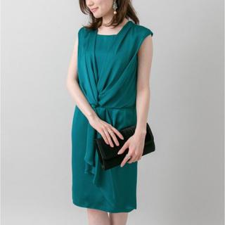 アーバンリサーチ(URBAN RESEARCH)の新品 定価25920円 アーバンリサーチ ドレス ワンピースブルー orグリーン(その他ドレス)