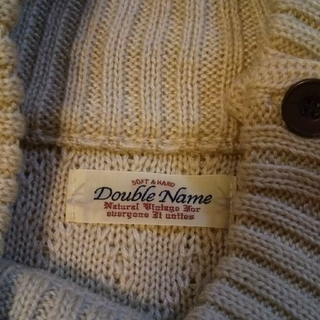 ダブルネーム(DOUBLE NAME)のタブルネームニット(ニット/セーター)