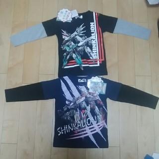 シマムラ(しまむら)の新品未使用タグ付き 新作 シンカリオンロンT110(Tシャツ/カットソー)