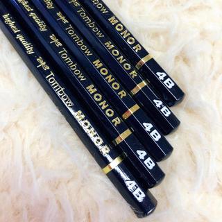 トンボエンピツ(トンボ鉛筆)のMONO R トンボ モノ  4B 鉛筆 5本(鉛筆)