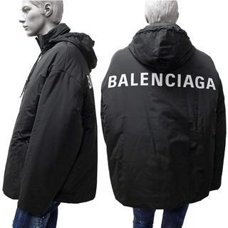 バレンシアガ(Balenciaga)のBALENCIAGA 18AWビッグシルエット中綿ブルゾンジャケットバレンシアガ(ブルゾン)
