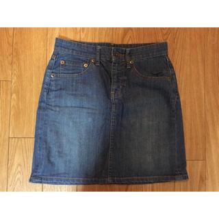 ムジルシリョウヒン(MUJI (無印良品))の無印良品 デニム スカート(ひざ丈スカート)