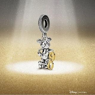 ディズニー(Disney)のミッキー 生誕90周年 限定チャーム(チャーム)