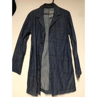 ジーユー(GU)のデニムコート S  Mの方も着れます gu ザラ 新品(トレンチコート)