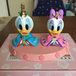 ディズニー(Disney)のディズニーパーク内購入 レア!! ドナルド&デイジー雛人形 (置物)
