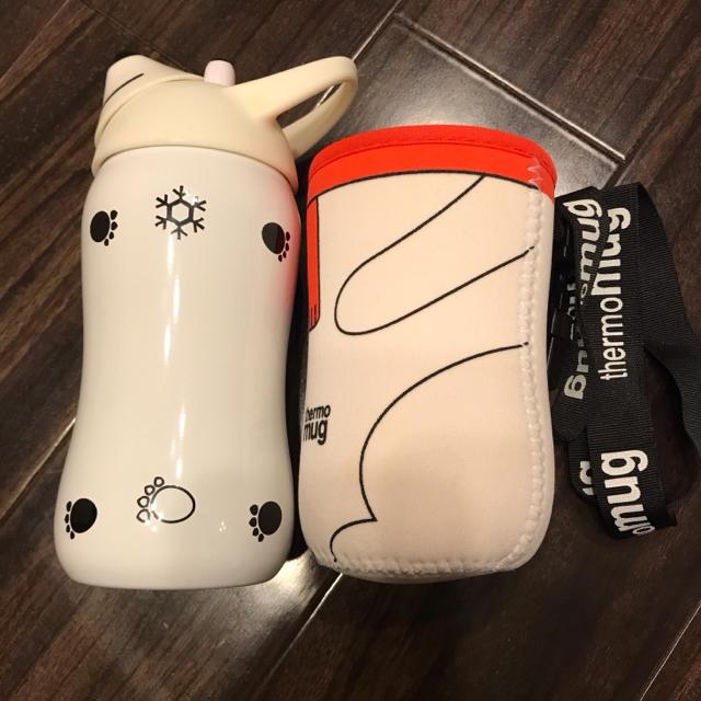 thermo mug(サーモマグ)のサーモマグ✳︎アニマルボトル キッズ/ベビー/マタニティの授乳/お食事用品(水筒)の商品写真