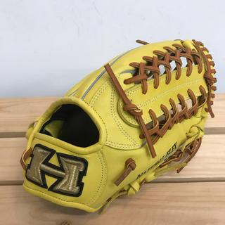 ハイゴールド(HI-GOLD)の超高級品!ハイゴールド 軟式グローブ 外野手用 定価20,520円(グローブ)