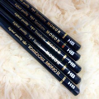 トンボエンピツ(トンボ鉛筆)のMONO R トンボ モノ HB 鉛筆 5本(鉛筆)