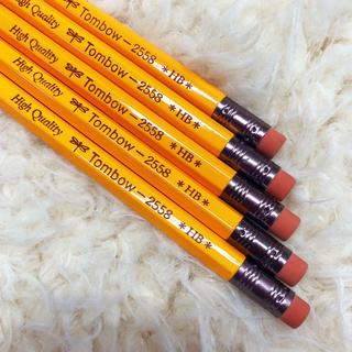 トンボエンピツ(トンボ鉛筆)のMONO R トンボ モノ HB 鉛筆 消しゴム付き 5本(鉛筆)