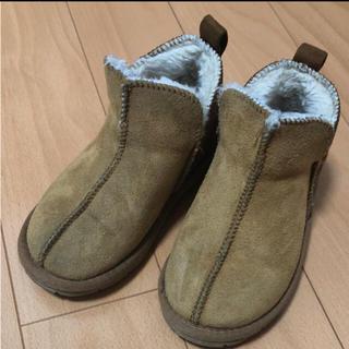 シマムラ(しまむら)の18.0cm キッズ ムートンブーツ(ブーツ)