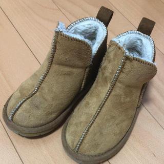 シマムラ(しまむら)の17.0cm キッズ 子供用ムートンブーツ(ブーツ)