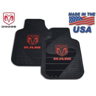 クライスラー(Chrysler)のダッジ フロアマットセット 汎用タイプ MADE IN USA (車内アクセサリ)