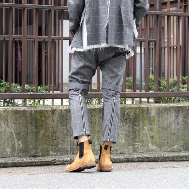 Yohji Yamamoto(ヨウジヤマモト)のサルバム 18aw ボンテージパンツ メンズのパンツ(サルエルパンツ)の商品写真