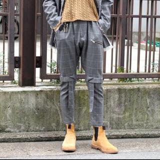 ヨウジヤマモト(Yohji Yamamoto)のサルバム 18aw ボンテージパンツ(サルエルパンツ)