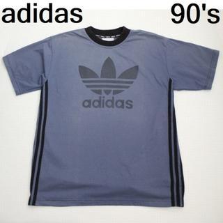 アディダス(adidas)の90's アディダス デカロゴ Tシャツ(Tシャツ/カットソー(半袖/袖なし))
