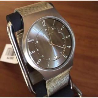 スカーゲン(SKAGEN)の新品✨スカーゲン SKAGEN ウルトラスリム チタン 腕時計 233XLTTM(腕時計(アナログ))