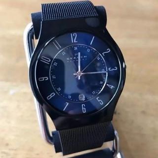 スカーゲン(SKAGEN)の新品✨スカーゲン SKAGEN 腕時計 T233XLTMN ネイビー(腕時計(アナログ))