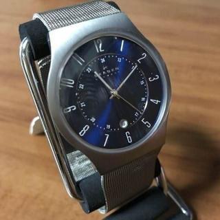 スカーゲン(SKAGEN)の新品✨スカーゲン SKAGEN ウルトラスリム チタン 腕時計 233XLTTN(腕時計(アナログ))