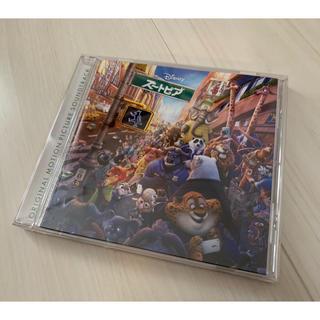 ディズニー(Disney)のCD ズートピア オリジナル・サウンドトラック 国内盤 美品(アニメ)