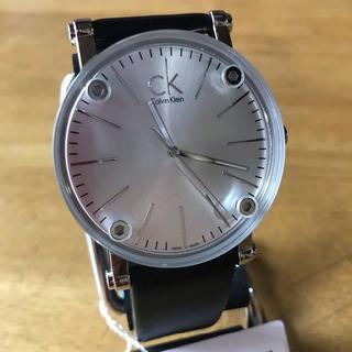 スカーゲン(SKAGEN)の新品✨カルバンクライン CK クオーツ メンズ 腕時計 K3B2T1C6(腕時計(アナログ))