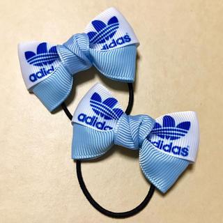 アディダス(adidas)のヘアゴム キッズ アディダス(ファッション雑貨)