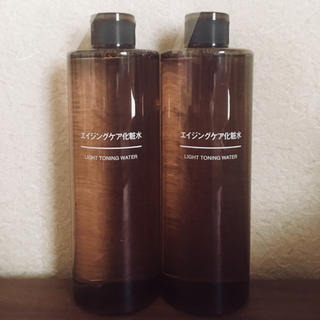 ムジルシリョウヒン(MUJI (無印良品))の無印良品 エイジングケア 化粧水(化粧水 / ローション)