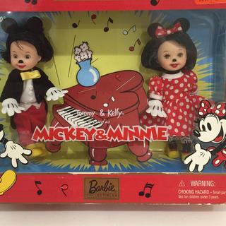 バービー(Barbie)のバービートミーとケリーDisney ミッキー ミニー(ぬいぐるみ/人形)