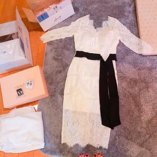 デイジーストア(dazzy store)の即売切れたキムボラムちゃん着用ドレス(ロングワンピース/マキシワンピース)