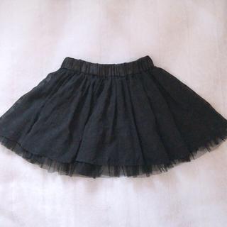 ˙˚ʚ TRALALA まっくろ ふんわり チュール スカート ɞ˚˙