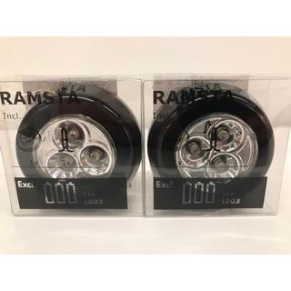 イケア(IKEA)の【2個セット】RAMSTA ラムスタ LEDミニランプ, 電池式 ブラック(その他)