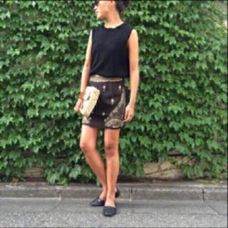 TODAYFUL - 🍍TODAYFUL ビーズスカート 刺繍 ビジュー インド 夏 黒 ブラック