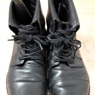 ザラ(ZARA)のZARAの2wayレザーブーツ EUR41サイズ(JPN26.5cm)(ブーツ)
