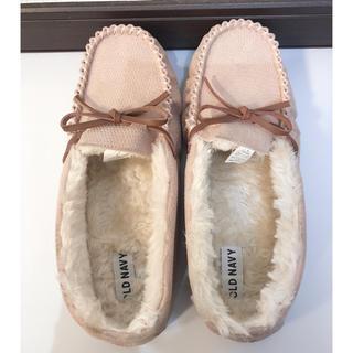 オールドネイビー(Old Navy)のオールドネイビーモカシンあったか靴(スリッポン/モカシン)