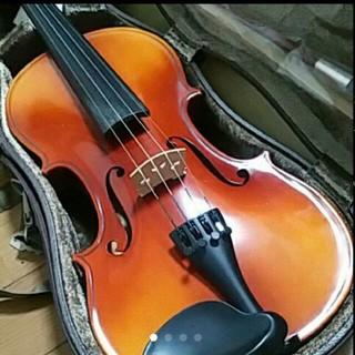 鈴木 国産 バイオリン No.280 証明ラベル有 ケース 弓 松脂 肩当セット