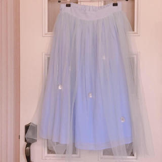 ハニーサロン(Honey Salon)のチュールスカート(ひざ丈スカート)