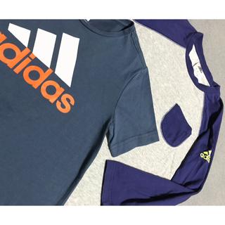 adidas - adidas/アディダスロンT半袖2点セット♫