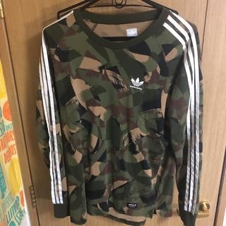 アディダス(adidas)のアディダスロングシャツ(Tシャツ/カットソー(半袖/袖なし))
