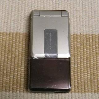 エヌティティドコモ(NTTdocomo)のドコモ SH903iTV ブラウン [SSH01-415] 中古(携帯電話本体)