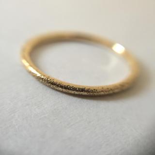 ココシュニック(COCOSHNIK)のココシュニック 約8号 K10 イエローゴールド リング(リング(指輪))