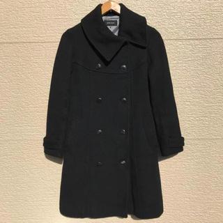 イランイラン(YLANG YLANG)のYLANG YLANG イランイラン コート 黒 ブラック(ロングコート)